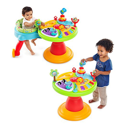 Bright Starts Around We Go 3 in 1 Activity Center Zippity Zoo
