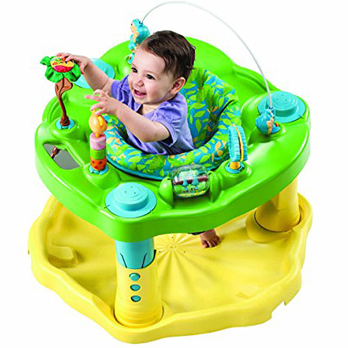 Evenflo Exersaucer Bounce &Learn Zoo Friends